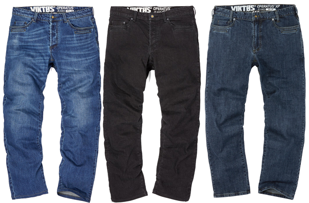 Viktos Operatus XP Jeans Dual-Pull Fly Zipper