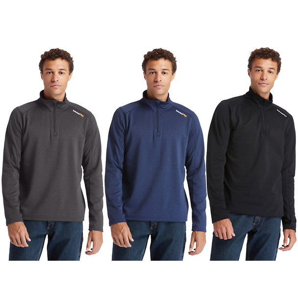 Timberland Men's Pro Understory Quarter-Zip Fleece Shirt