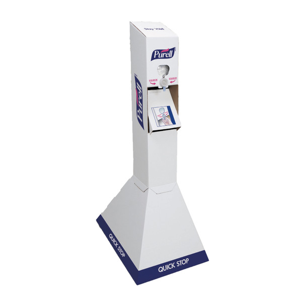 PURELL Quick Floor Stand Kit 2/34oz Refills