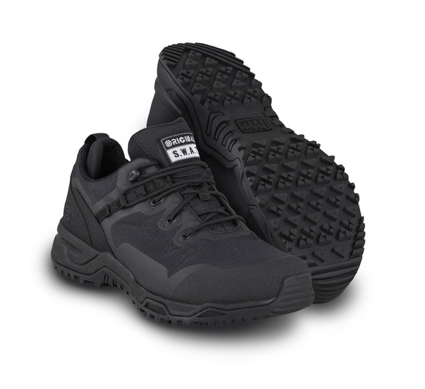 "Original SWAT 175001 Alpha Fury Low Cut 3"" Black Athletic Shoes"