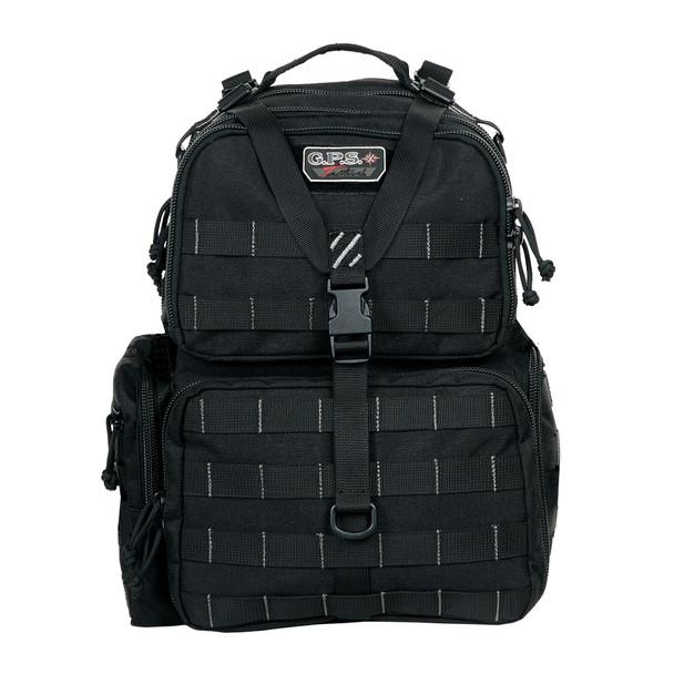 G Outdoors Tactical Range Backpack BLACK