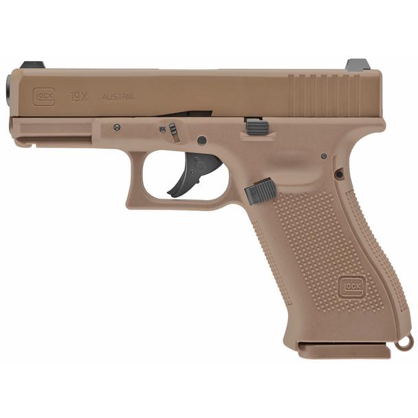 Umarex Glock G19X GEN5 Air Pistols 18rd .177 Caliber