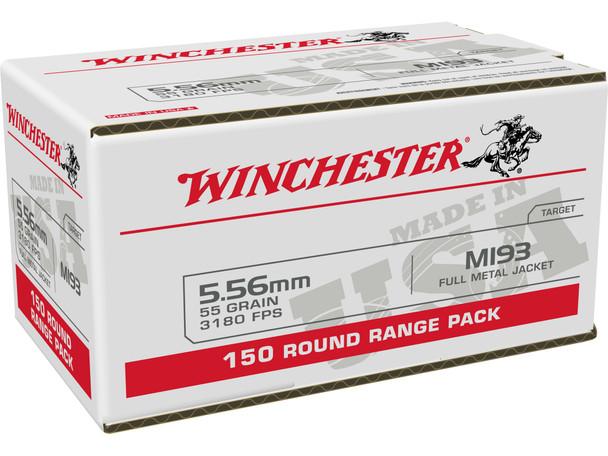 Winchester 5.56mm 55gr FMJ Ammunition 150rds