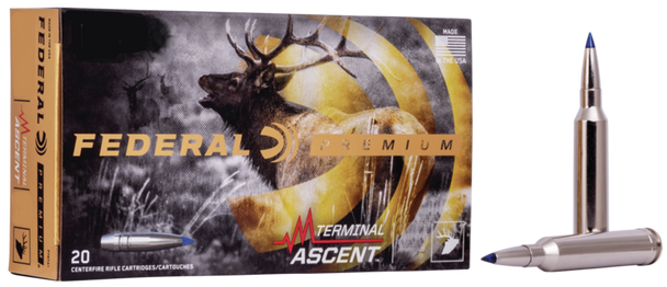 Federal Premium 270 WSM 136gr Terminal Ascent Ammunition 20rds