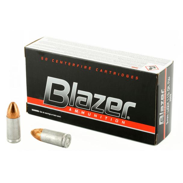 CCI Blazer 9mm Luger 115GR FMJ Ammunition 50 Rounds
