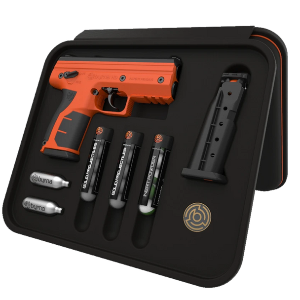 Byrna HD Kinetic Kit w/Impact Rounds Only ORANGE