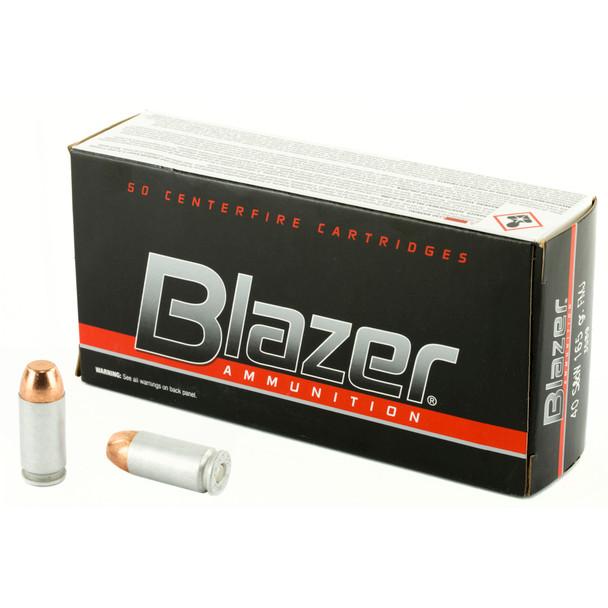 CCI Blazer 40 S&W 165GR FMJ Ammunition 50 Rounds
