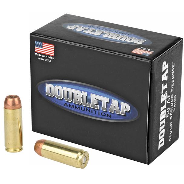 DoubleTap Bonded Defense 50AE 300gr JHP Ammunition 20rds