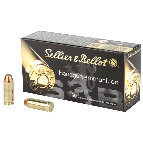 SB Pistol 10mm Auto 180GR FMJ Ammunition 50 Rounds