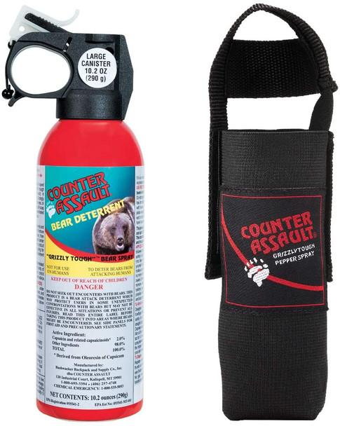 Counter Assault 10.5oz Bear Spray 40 Foot Range w/Holster
