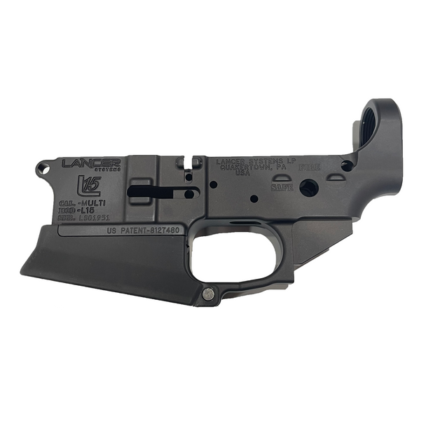 Lancer Systems L15 Lower Receiver w/ Enhanced Magwell