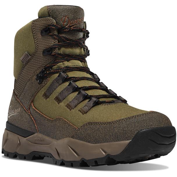 Danner 65301 Men's Vital Trail Brown/Olive Boots