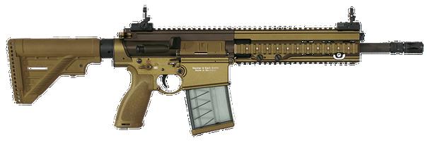 HK 417 Series 7.62mm Machine Guns