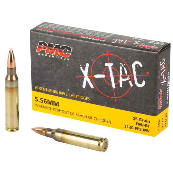 PMC X-Tac 5.56mm 55gr FMJBT Ammunition 1000rds
