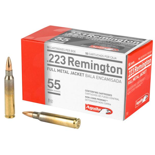Aguila .223 55gr FMJ Ammunition 50rds