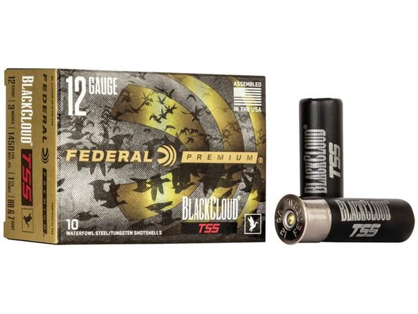 """Federal Black Cloud TSS 12 Gauge 3"""" 1 1/4 oz 7/BB Shot 10 Rounds"""