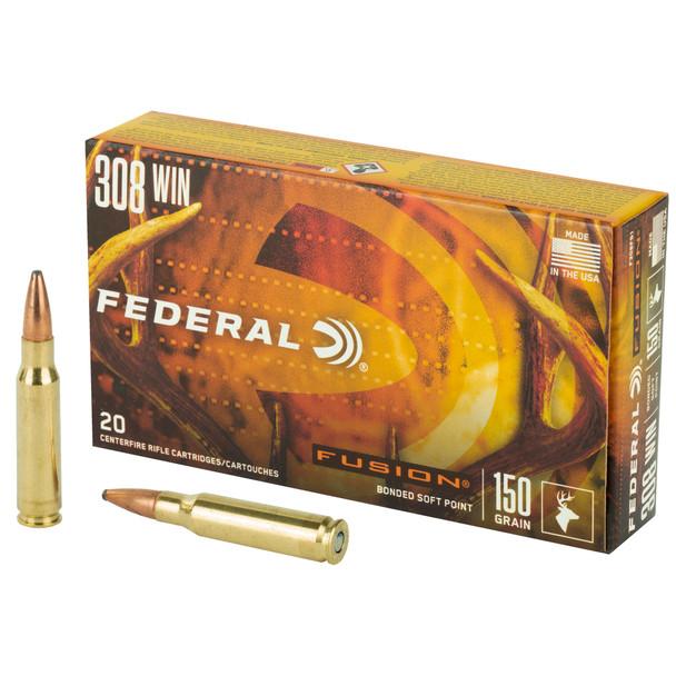 Federal Fusion .308 Winchester 150gr BT Ammunition 20rds