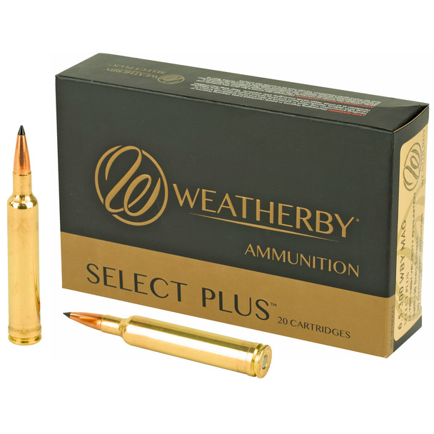 Weatherby Select Plus 6.5-300 Weatherby 130GR Ballistic Tip Ammunition 20 Rounds