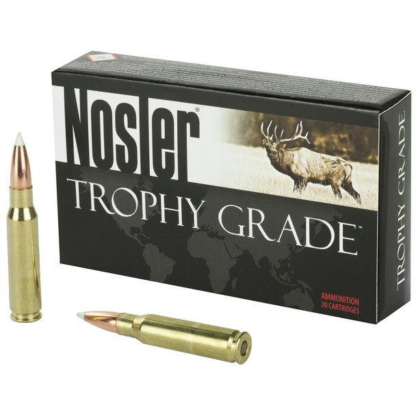 Nosler Trophy Grade 308 Win 165GR AccuBond Ammunition 20 Rounds