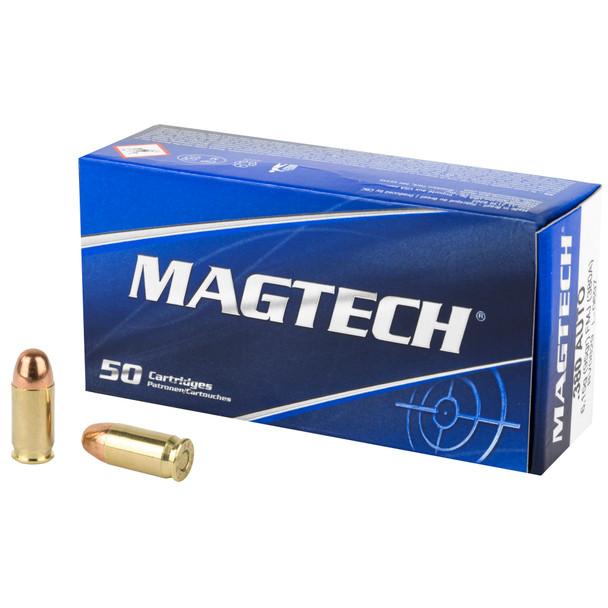 Magtech .380 ACP 95gr FMJ Ammunition 50rds