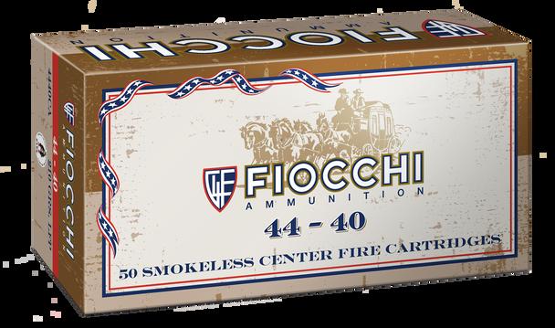 Fiocchi Cowboy Action 44-40 Winchester 210gr LRNFP Ammunition 50rds