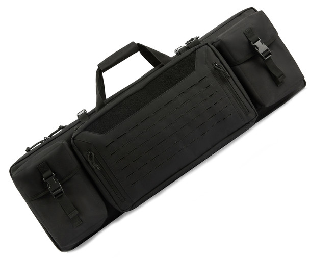 Guawin Equipment & Double Gun Case w/Backpack Straps