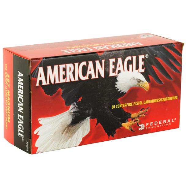 Federal American Eagle .357 Magnum 158gr JSP Ammunition 50rds