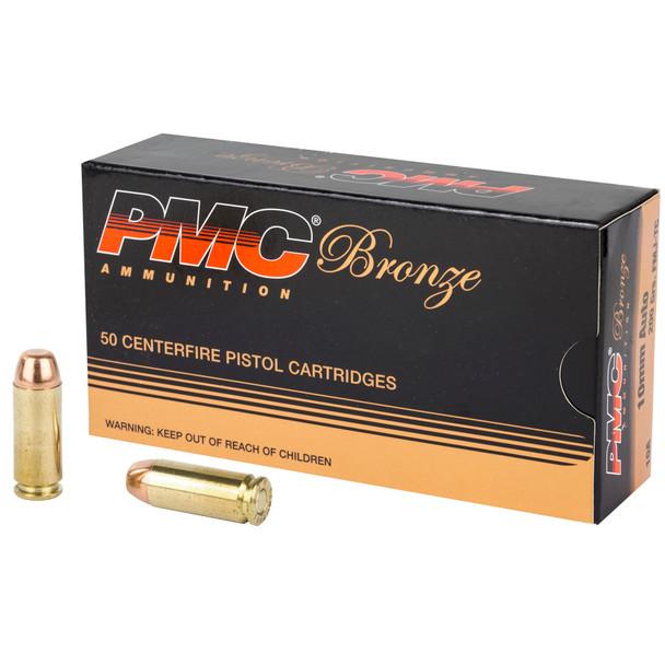 PMC Bronze 10mm 200gr FMJ Ammunition 50rds