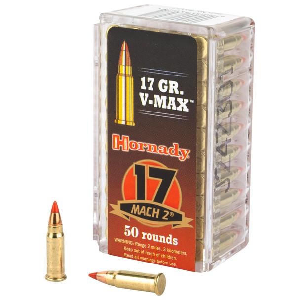 Hornady Varmint Express 17 HM2 17gr V-Max Ammunition 50rds
