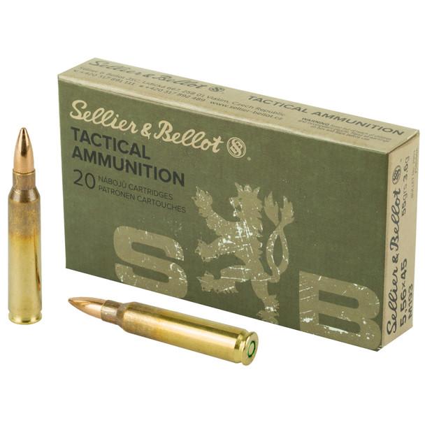 SB Rifle 5.56mm 55gr FMJ Ammunition 20rds