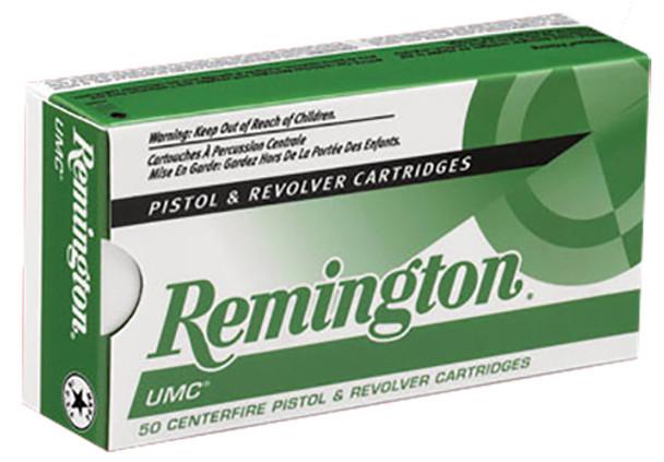 Remington UMC 9mm 147gr FMJ Ammunition 50rds
