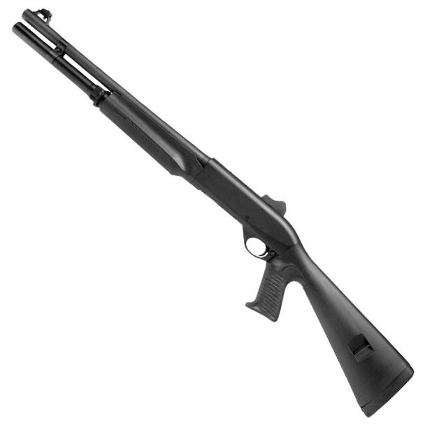 "Benelli M2 18.5"" 12GA Semi-Auto Shotgun w/ Pistol Grip & Ghost Ring Sights"