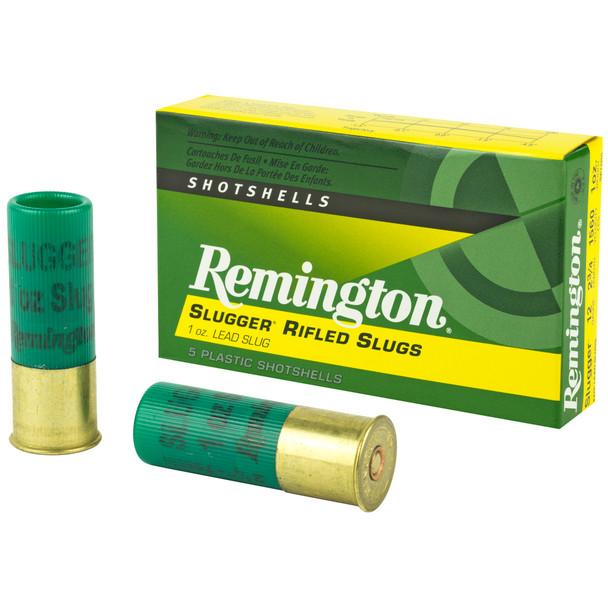 "Remington Slugger 12GA 2.75"" 1oz  Shotshell Ammunition 5rds"