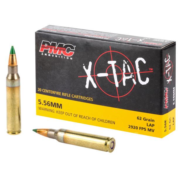 PMC X-Tac 5.56mm 62GR LAP Ammunition 20 Rounds