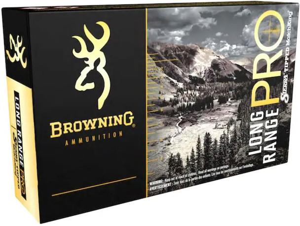 Browning Long Range Pro Hunter 6.8 Western 175GR Sierra Tipped GameKing Ammunition 20 Rounds