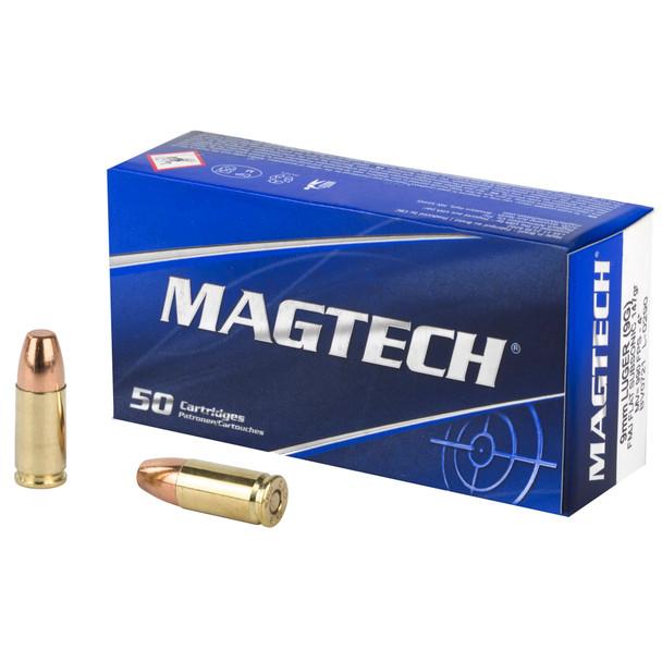 Magtech 9mm 147gr FMJFS Ammunition 50rds