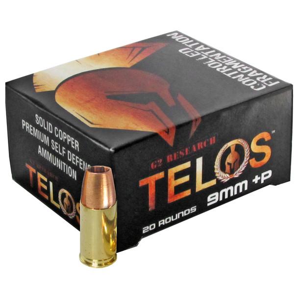 G2 Research Telos 9mm 92gr CHP Ammunition 20rds