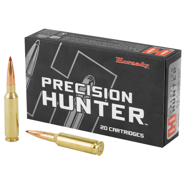Hornady Precision Hunter 6.5 Creedmoor 143gr Extremely Low Drag-eXpanding Ammunition 20rds