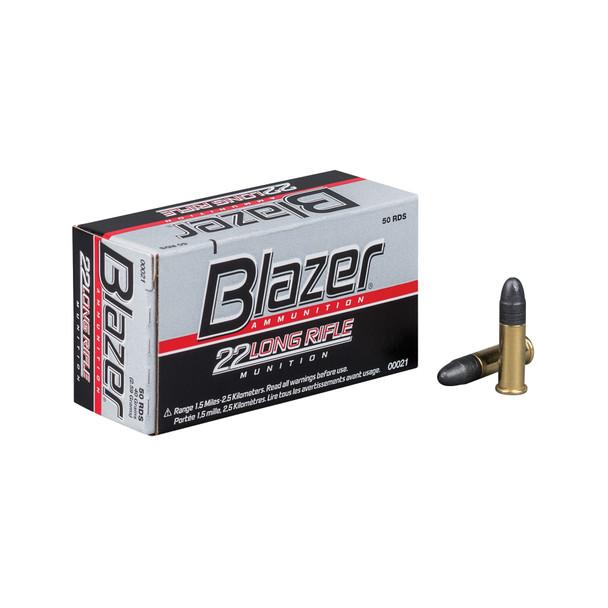 CCI Blazer 22LR 40GR Lead Round Nose Ammunition 50 Rounds