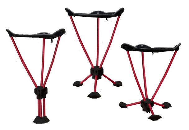 This versatile tripod is a triple threat. It can be adjusted to two heights or used as a mono pod. At just over 1 lb, you can pack this super small stool in your back pocket for a full day's adventure.