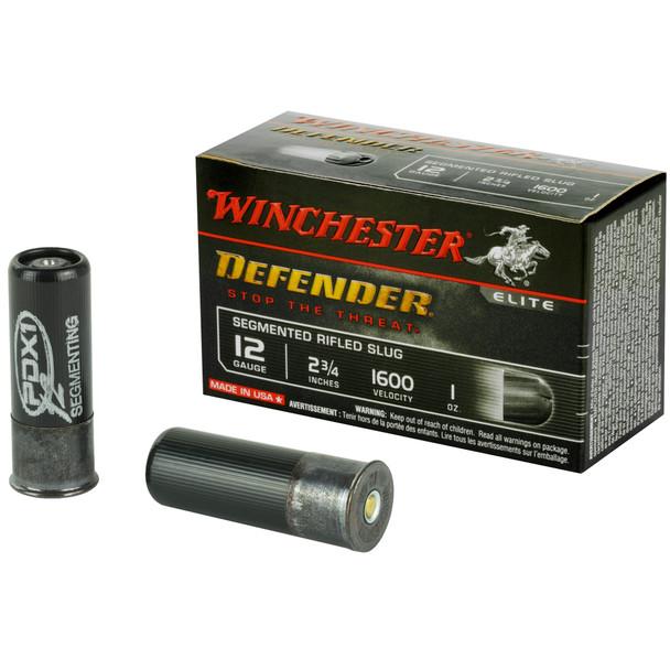"Winchester Defender 12GA 2.75"" 1oz Segmented Slugs Ammunition 10 Rounds"