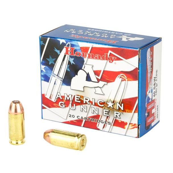 Hornady American Gunner .40 S&W 180gr XTP Ammunition 20rds
