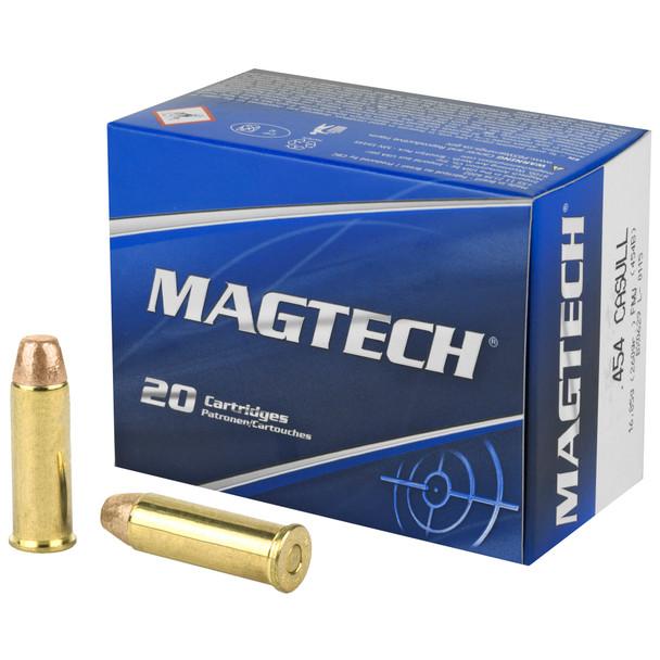 Magtech 454 Casull 260gr FMJ Ammunition 20rds