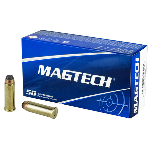 Magtech 44 Magnum 240gr SJSP-Flat Ammunition 50rds