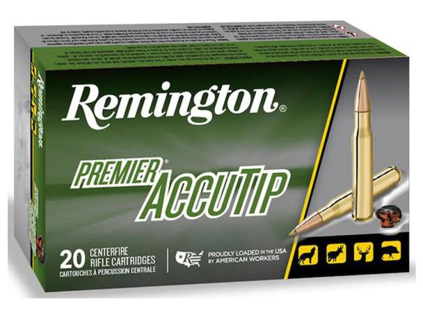 Remington Premier AccuTip 30-06 Springfield 165gr BT Ammunition 20rds