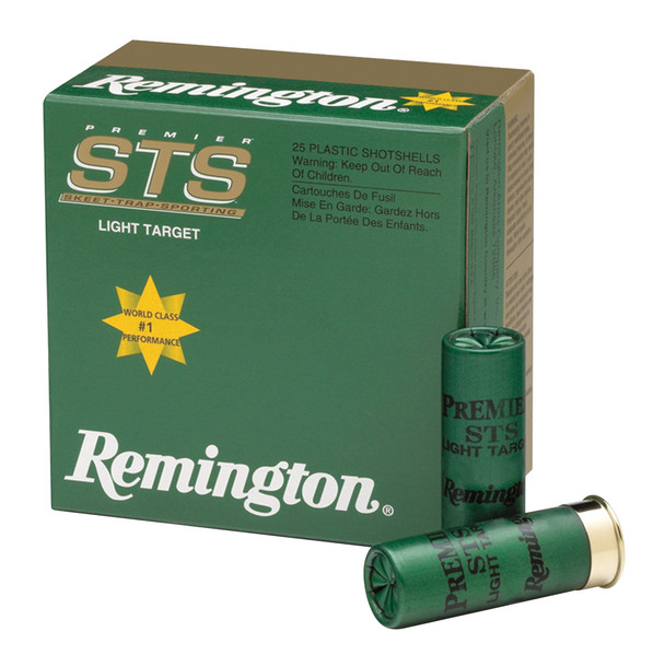 Remington Premier STS Light Target 12GA Ammunition 25rds