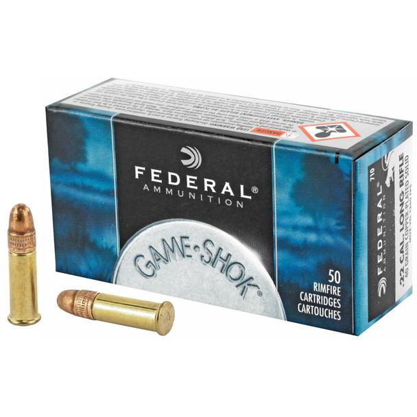 Federal Game-Shok 22LR 40gr CPHP Ammunition 50rds