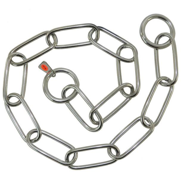 Herm Sprenger Long links Stainless Steel 4mm Collars