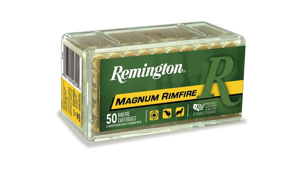 Remington Magnum RimFire 22WIN 40gr PSP Ammunition 50rds