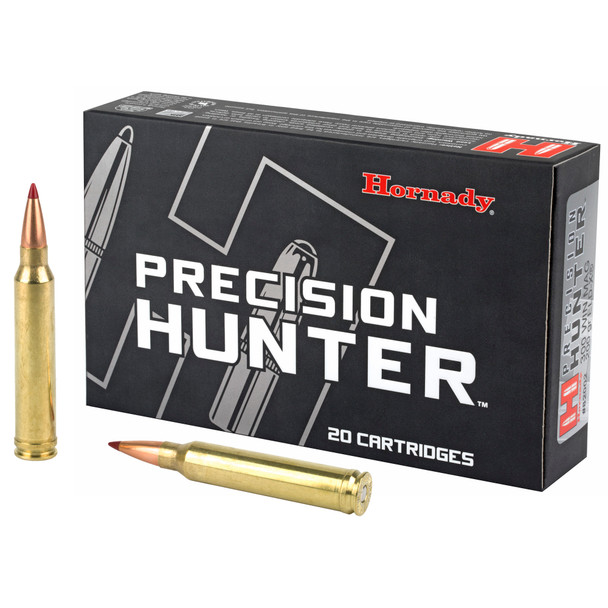 Hornady Precision Hunter 300WIN MAG 200gr Extremely Low Drag-eXpanding Ammunition 20rds